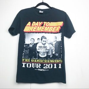 A Day To Remember Band Concert Tour tee